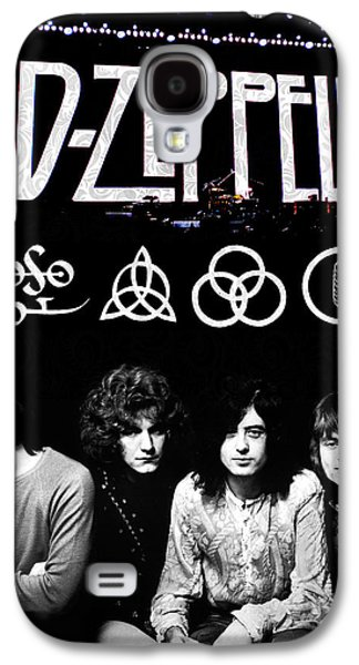 Musicians Galaxy S4 Case - Led Zeppelin by FHT Designs
