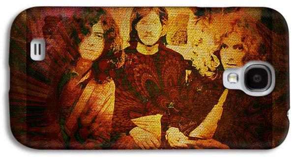 Robert Plant Galaxy S4 Case - Led Zeppelin - Kashmir by Absinthe Art By Michelle LeAnn Scott
