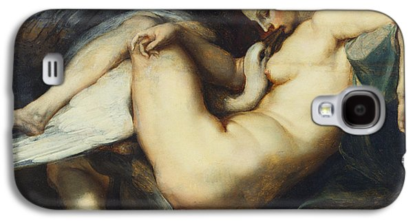 Leda And The Swan Galaxy S4 Case by Rubens