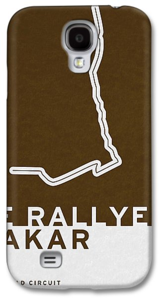 Legendary Races - 1978 Le Rallye Dakar Galaxy S4 Case by Chungkong Art