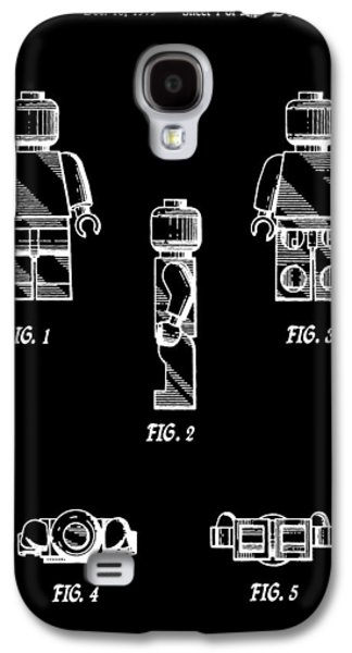 Lego Minifigurine Patent Galaxy S4 Case by Dan Sproul