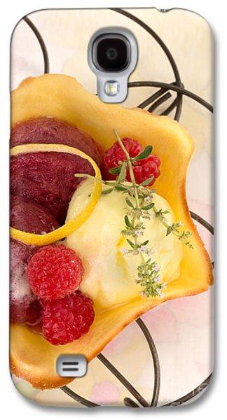 Lemon And Berry Sorbet  Galaxy S4 Case by Iris Richardson