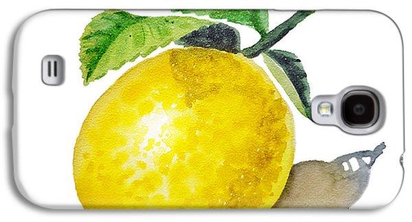 Artz Vitamins The Lemon Galaxy S4 Case