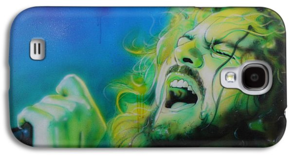 Pearl Jam Galaxy S4 Case - Lemon Yellow Sun by Christian Chapman Art