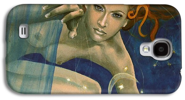 Leo From Zodiac Series Galaxy S4 Case by Dorina  Costras