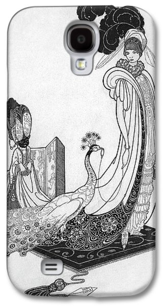 Leon Bakst Style Illustration Galaxy S4 Case by Alan Olde