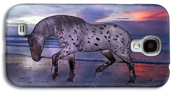Leopard Appaloosa Galaxy S4 Case by Betsy Knapp