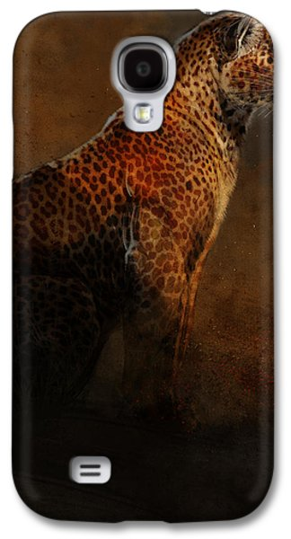 Leopard Portrait Galaxy S4 Case