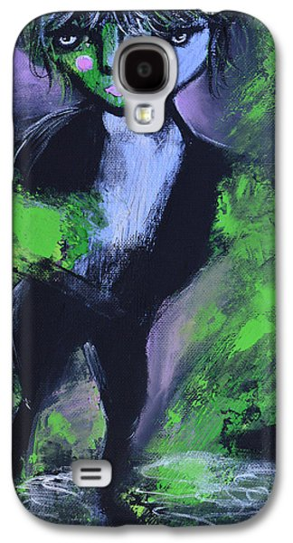 Leprechaun Galaxy S4 Case by Donna Blackhall