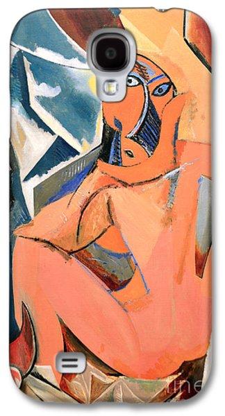 Les Demoiselles D'avignon Picasso Detail Galaxy S4 Case
