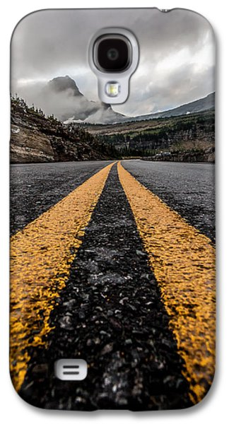 Less Traveled Galaxy S4 Case by Aaron Aldrich