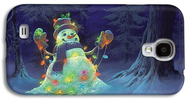 Let It Glow Galaxy S4 Case by Michael Humphries