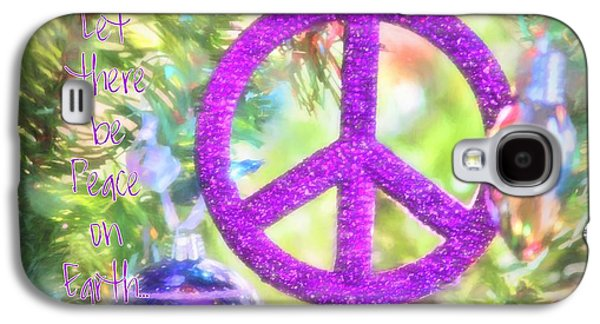 Let There Be Peace On Earth Galaxy S4 Case
