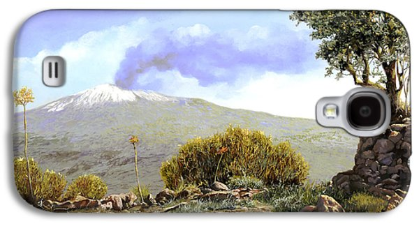l'Etna  Galaxy S4 Case by Guido Borelli