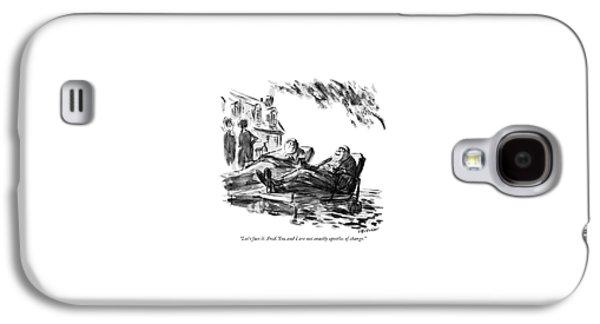 Let's Face Galaxy S4 Case by James Stevenson