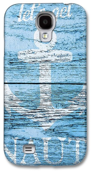 Let's Get Nautical Galaxy S4 Case by Cora Niele