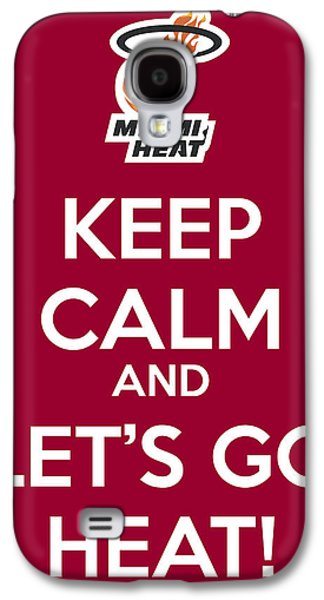 Let's Go Heat Poster Galaxy S4 Case