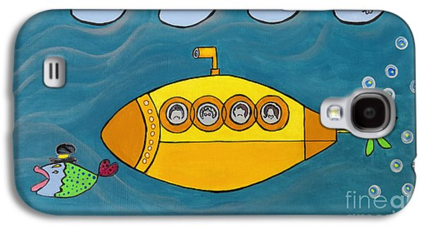 Lets Sing The Chorus Now - The Beatles Yellow Submarine Galaxy S4 Case