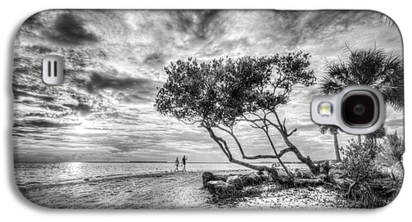 Let's Stay Here Forever Bw Galaxy S4 Case by Marvin Spates