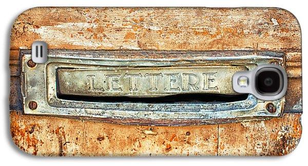 Lettere Letters Galaxy S4 Case