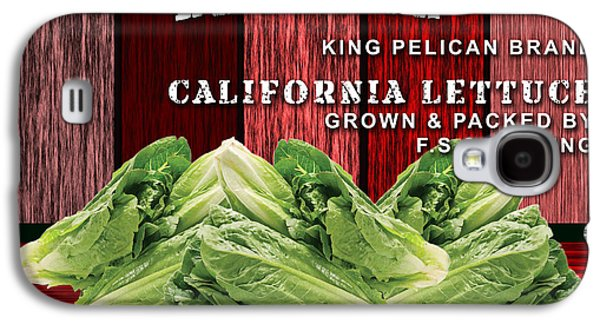 Lettuce Farming Galaxy S4 Case by Marvin Blaine