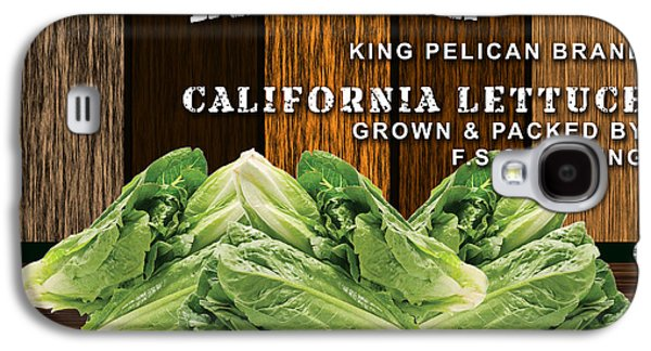 Lettuce Patch Galaxy S4 Case by Marvin Blaine