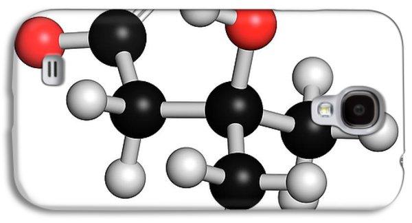 Leucine Metabolite Molecule Galaxy S4 Case by Molekuul