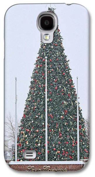 Levis Commons Christmas Tree Galaxy S4 Case