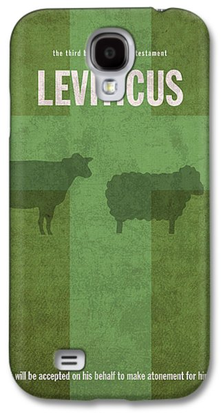 Leviticus Books Of The Bible Series Old Testament Minimal Poster Art Number 3 Galaxy S4 Case