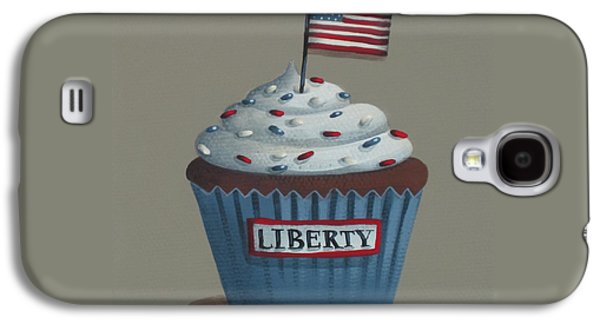 Liberty Cupcake Galaxy S4 Case by Catherine Holman
