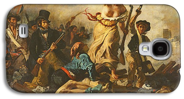 Liberty Leading The People, 28 July 1830 Galaxy S4 Case by Ferdinand Victor Eugene Delacroix
