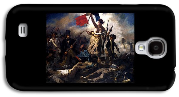 Liberty Leading The People During The French Revolution Galaxy S4 Case