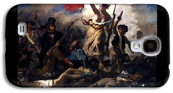 Liberty Leading The People During The French Revolution Galaxy S4 Case by War Is Hell Store