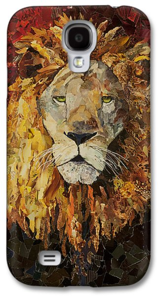 Liberty Lion Galaxy S4 Case by Claire Muller