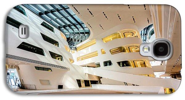 Library Interior 2  Zaha Hadid Wu Campus Vienna  Galaxy S4 Case