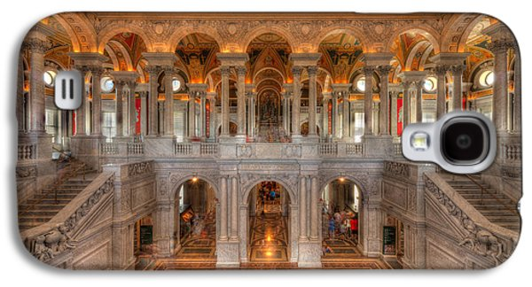 Library Of Congress Galaxy S4 Case