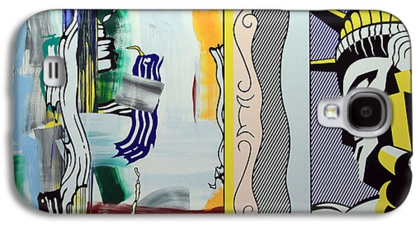 Lichtenstein's Painting With Statue Of Liberty Galaxy S4 Case by Cora Wandel