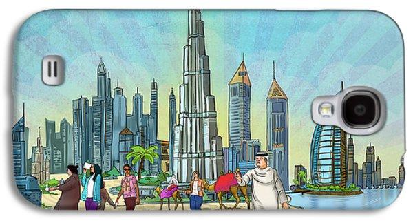Life In Dubai Galaxy S4 Case