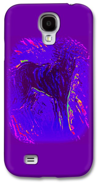 If There Is Life In Space, There Must Be Horses  Galaxy S4 Case by Hilde Widerberg