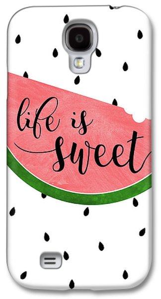 Life Is Sweet - Watermelon Galaxy S4 Case
