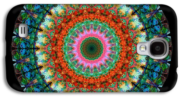 Life Joy - Mandala Art By Sharon Cummings Galaxy S4 Case by Sharon Cummings
