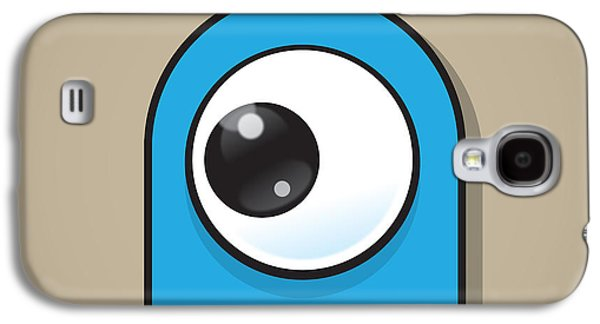 Light Blue Galaxy S4 Case by Samuel Whitton