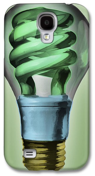 Light Bulb Galaxy S4 Case
