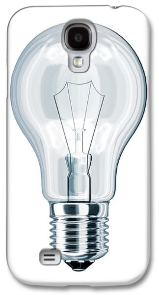 Light Bulb Galaxy S4 Case by Leonello Calvetti