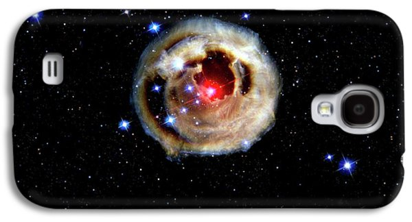 Light Echoes From Exploding Star Galaxy S4 Case by Nasa/esa/stsci/h.bond/detlev Van Ravenswaay