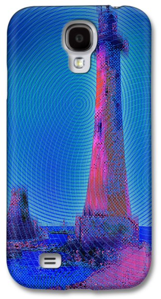 Light House At Sunset 1 Galaxy S4 Case by Tony Rubino