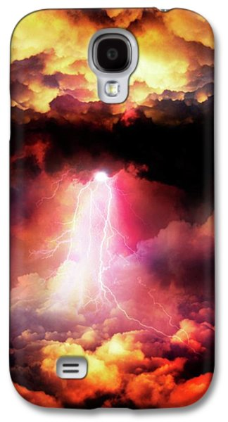 Lightening Striking Galaxy S4 Case by Victor Habbick Visions
