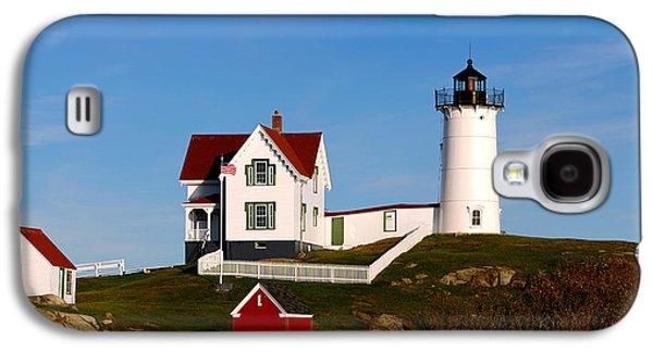 Lighthouse On The Hill, Cape Neddick Galaxy S4 Case