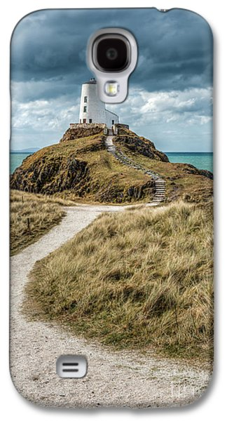 Lighthouse Path Galaxy S4 Case by Adrian Evans