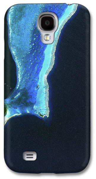Lighthouse Reef And Belize Galaxy S4 Case by Jaxa, Esa